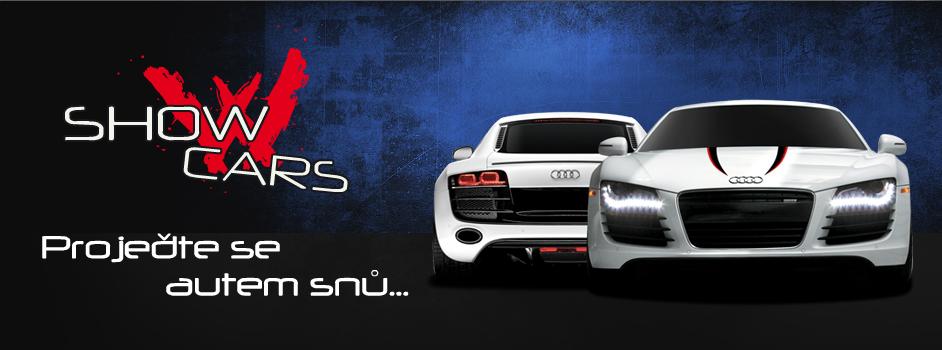 Showcars - Projeďte se autem snů...